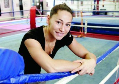 Gaelle Amand Championne du monde de Boxe anglaise